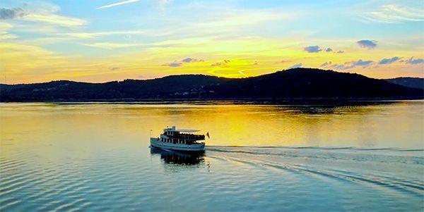 Long Creek Marina sunset