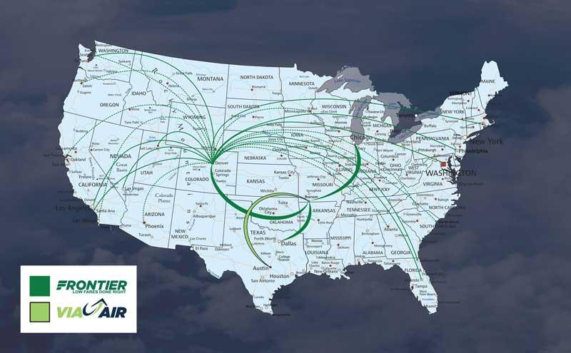 Branson Airport Routes