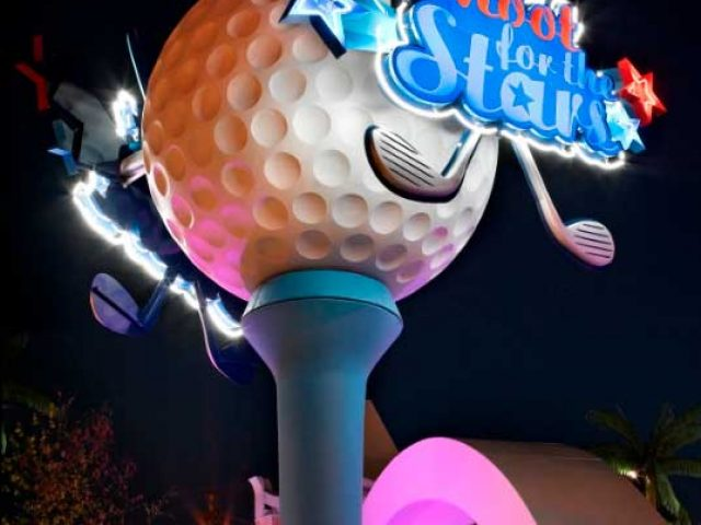 Shoot for the Stars Mini-Golf